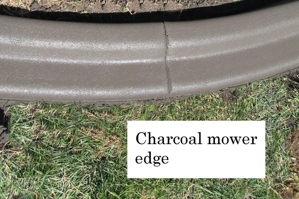 Profile- Mower edge Base- charcoal  Release- none Stamp- none